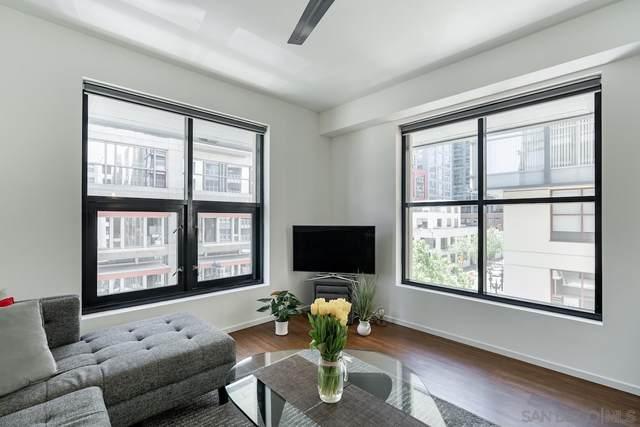 1150 J Street #409, San Diego, CA 92101 (#210012069) :: Neuman & Neuman Real Estate Inc.