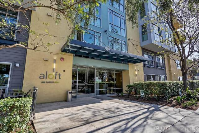 889 Date St #207, San Diego, CA 92101 (#210012102) :: SD Luxe Group