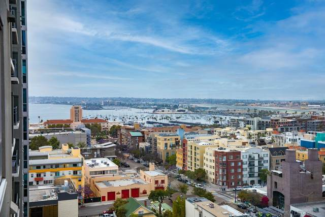 300 W Beech #1408, San Diego, CA 92101 (#210012129) :: SD Luxe Group
