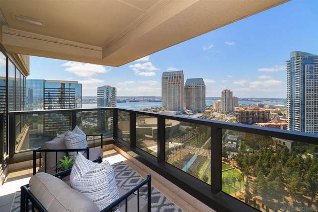 100 Harbor Dr #2304, San Diego, CA 92101 (#210012340) :: SD Luxe Group