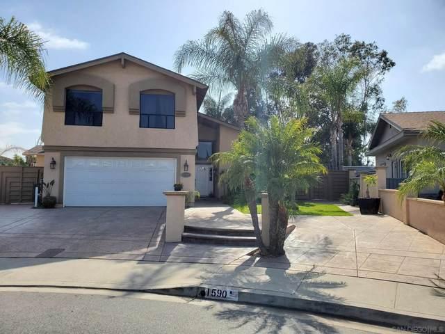 1590 Woodlark Ct, Chula Vista, CA 91911 (#210012573) :: The Legacy Real Estate Team