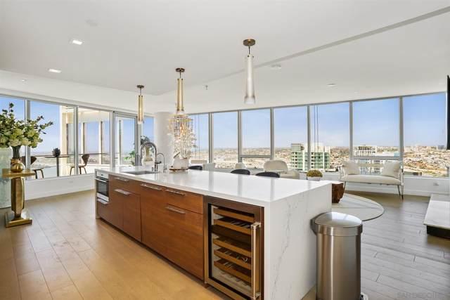 888 W E St #4001, San Diego, CA 92101 (#210013241) :: Dannecker & Associates