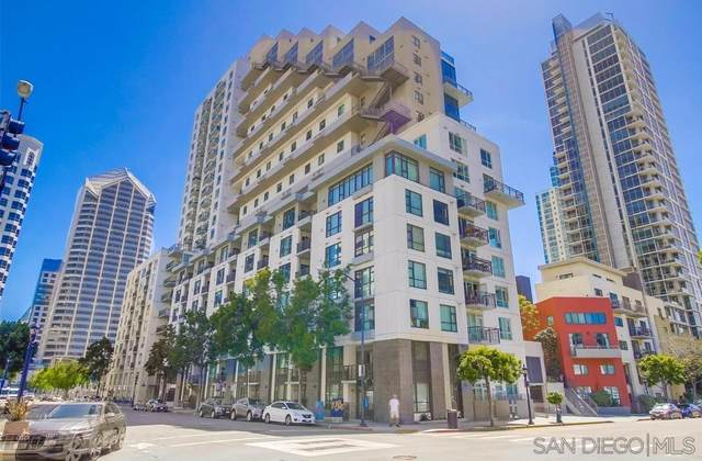 1240 India Street #107, San Diego, CA 92101 (#210014255) :: Zember Realty Group