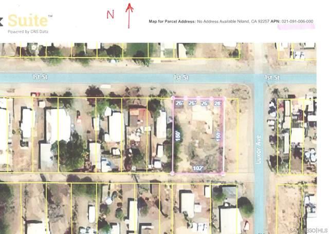 1st Street #6, Niland, CA 92257 (#210014620) :: Neuman & Neuman Real Estate Inc.
