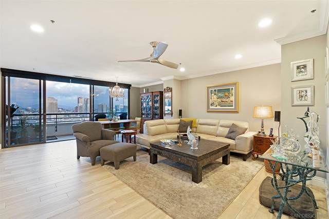 700 Front St #1508, San Diego, CA 92101 (#210015323) :: SunLux Real Estate