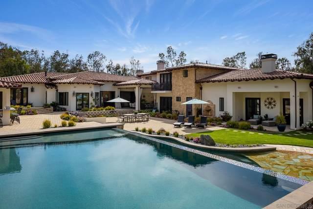 16109 Rambla De Las Flores, Rancho Santa Fe, CA 92067 (#210015399) :: The Stein Group