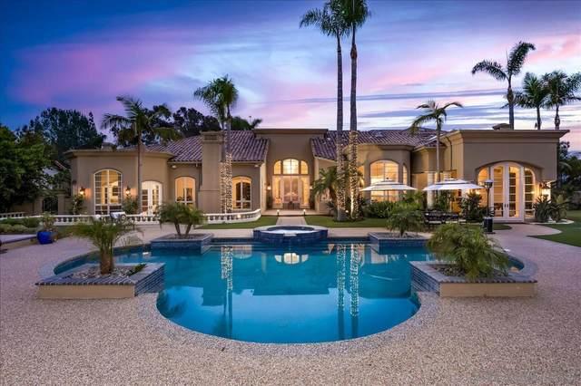 16326 Via Cazadero, Rancho Santa Fe, CA 92067 (#210015511) :: Neuman & Neuman Real Estate Inc.
