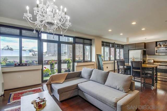 1551 4Th Ave #501, San Diego, CA 92101 (#210016092) :: Yarbrough Group