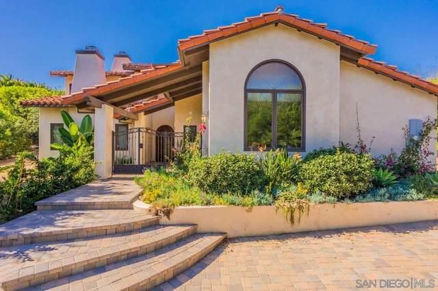 17108 Via De La Valle, Rancho Santa Fe, CA 92067 (#210016132) :: The Stein Group