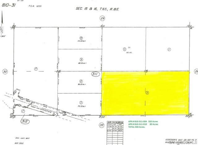 Paled Dunes Dr 810-311-004, Desert Center, CA 92239 (#210016326) :: SD Luxe Group