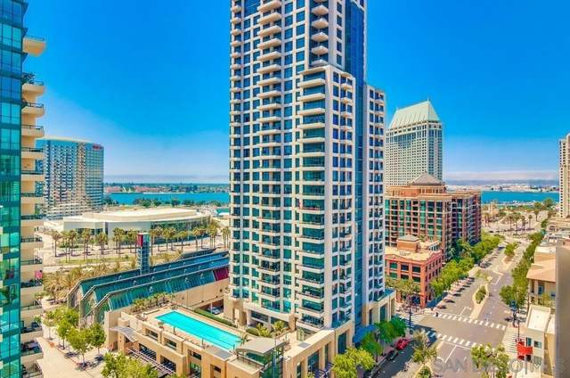 645 Front St #1514, San Diego, CA 92101 (#210016676) :: Compass