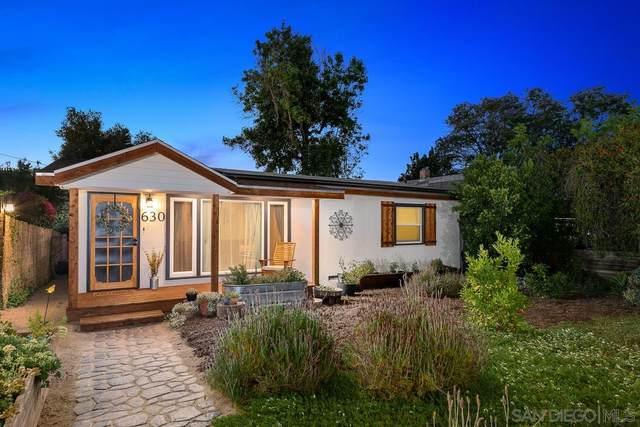 630 E 4Th Ave, Escondido, CA 92025 (#210016712) :: Neuman & Neuman Real Estate Inc.