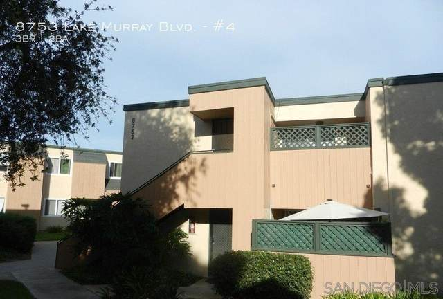 8753 Lake Murray Blvd #4, San Diego, CA 92119 (#210016786) :: The Stein Group