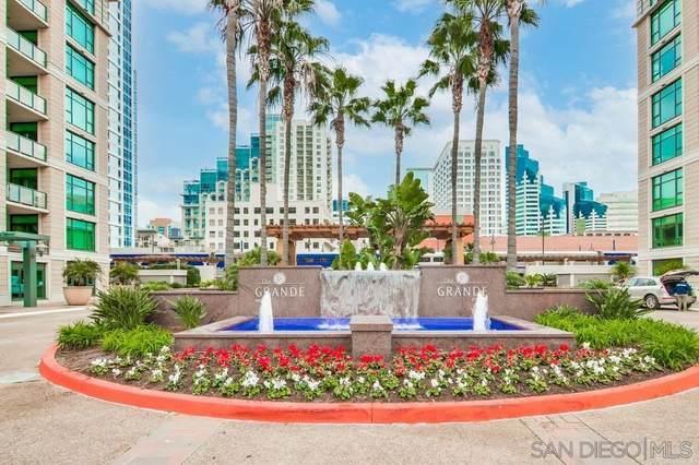 1205 Pacific Hwy #2105, San Diego, CA 92101 (#210017285) :: Neuman & Neuman Real Estate Inc.