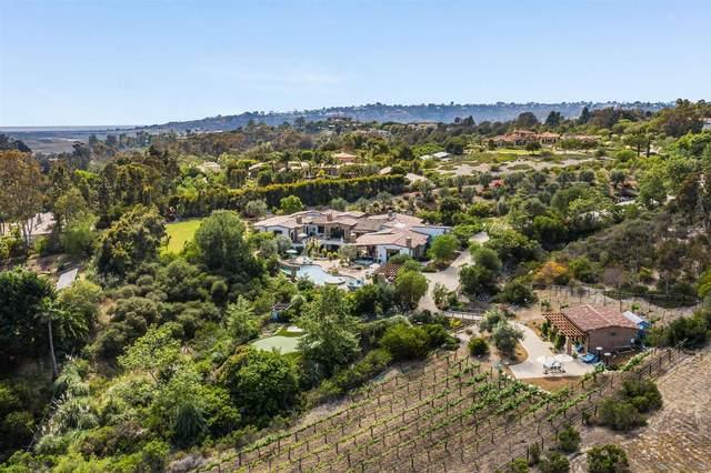 16627 Los Morros, Rancho Santa Fe, CA 92067 (#210017678) :: Neuman & Neuman Real Estate Inc.