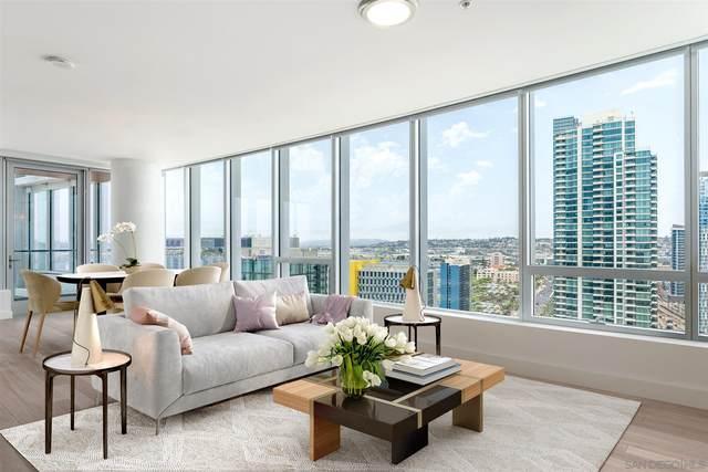 888 W E Street #2101, San Diego, CA 92101 (#210018250) :: Neuman & Neuman Real Estate Inc.