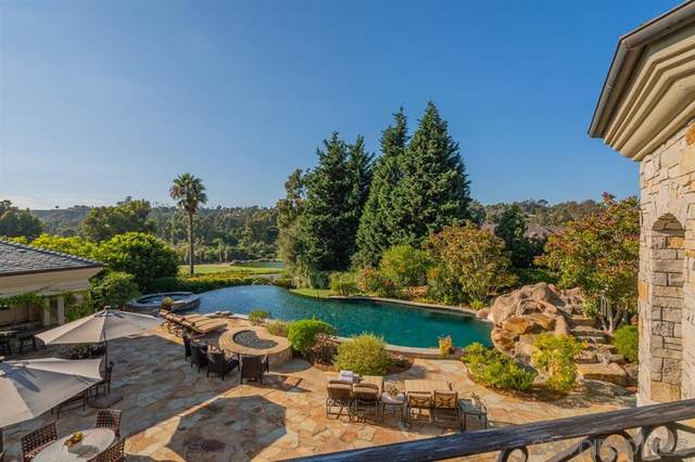 6397 Clubhouse Drive, Rancho Santa Fe, CA 92067 (#210019594) :: The Stein Group