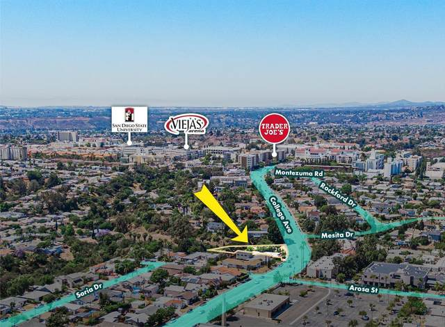 4840 College Ave, San Diego, CA 92115 (#210019643) :: Neuman & Neuman Real Estate Inc.