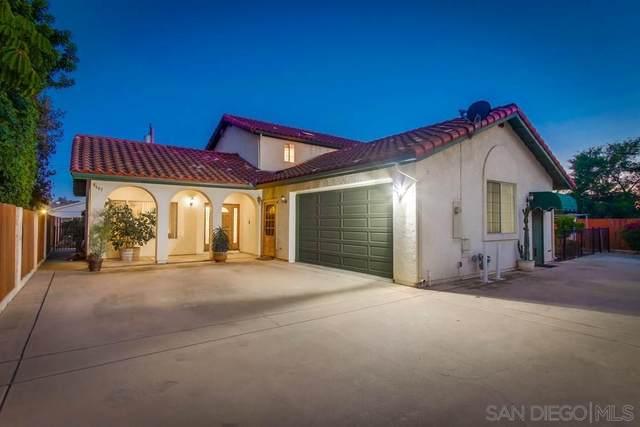 8667 Hayes St, La Mesa, CA 91942 (#210019790) :: Neuman & Neuman Real Estate Inc.
