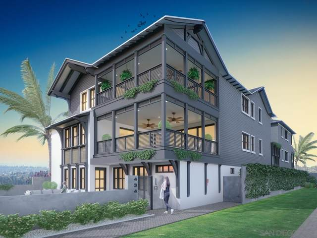 434 Orange Avenue 2A, Coronado, CA 92118 (#210019947) :: Neuman & Neuman Real Estate Inc.