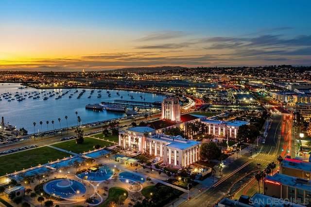 1325 Pacific Hwy #2805, San Diego, CA 92101 (#210020095) :: Neuman & Neuman Real Estate Inc.