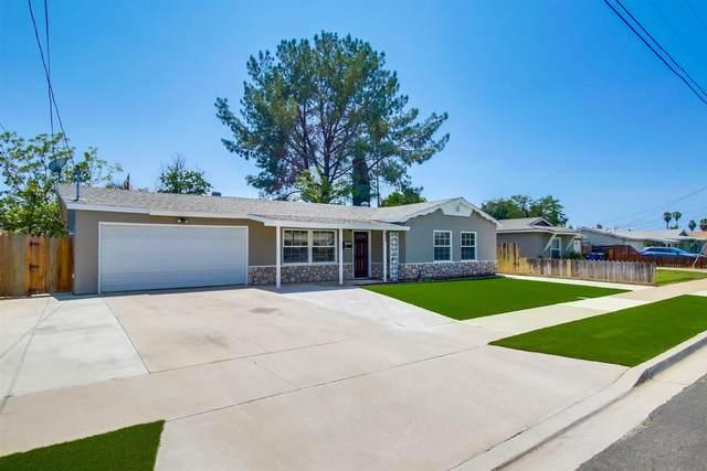 552 Brighthaven Ave, El Cajon, CA 92019 (#210020160) :: Neuman & Neuman Real Estate Inc.