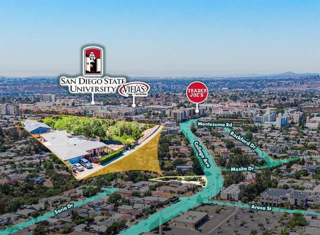 4840-42 College Ave, San Diego, CA 92115 (#210021207) :: Neuman & Neuman Real Estate Inc.