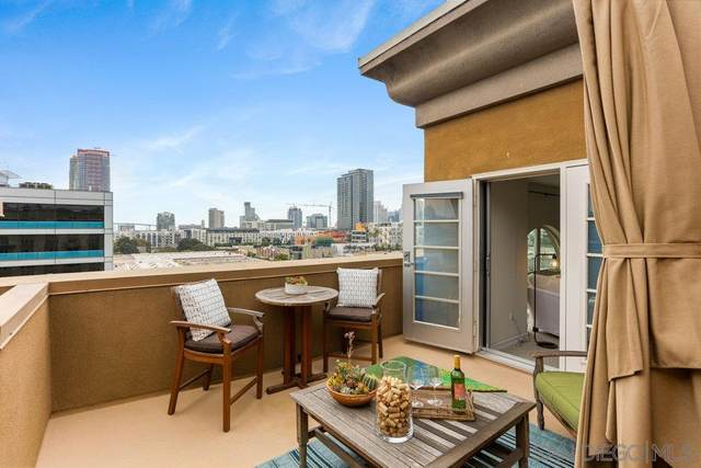 1480 Broadway #2603, San Diego, CA 92101 (#210021249) :: SD Luxe Group