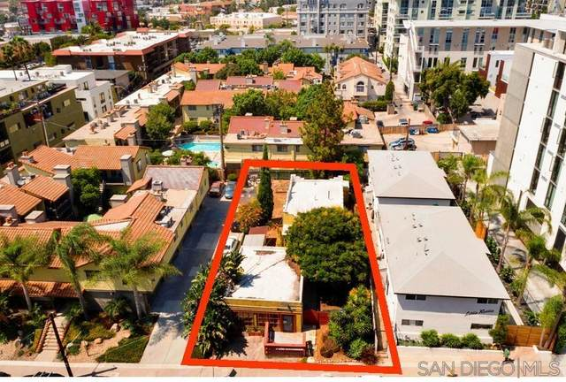 1750 Robinson Ave (-52), San Diego, CA 92103 (#210021485) :: SD Luxe Group