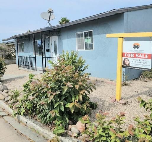 701 Sunnyside, San Diego, CA 92114 (#210021686) :: Wannebo Real Estate Group