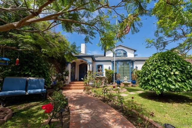 3422 Whittier St, San Diego, CA 92106 (#210021846) :: Compass