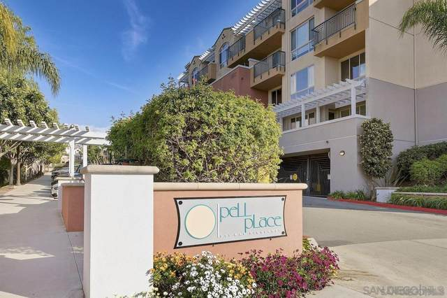 3877 Pell Pl #408, San Diego, CA 92130 (#210021952) :: Neuman & Neuman Real Estate Inc.