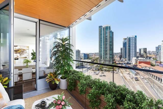 888 W E Street #1706, San Diego, CA 92101 (#210022022) :: SD Luxe Group