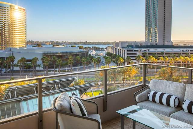 550 Front St #701, San Diego, CA 92101 (#210022047) :: SD Luxe Group