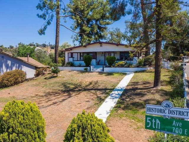703 E 5Th Ave, Escondido, CA 92025 (#210022075) :: Neuman & Neuman Real Estate Inc.