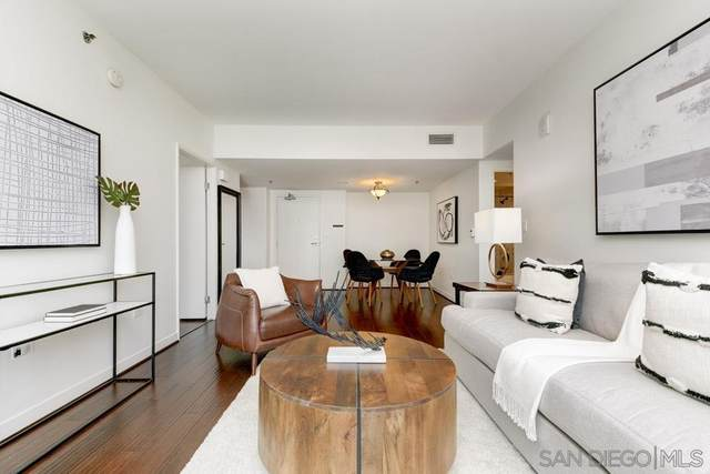 425 W Beech St #521, San Diego, CA 92101 (#210022190) :: SD Luxe Group