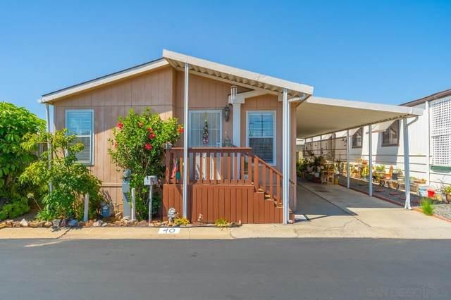 1010 E Bobier Dr Spc 40, Vista, CA 92084 (#210022401) :: Solis Team Real Estate