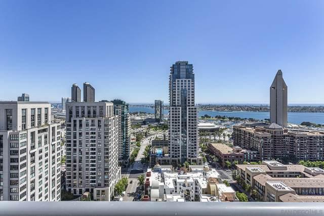 700 Front #1901, San Diego, CA 92101 (#210023016) :: Windermere Homes & Estates