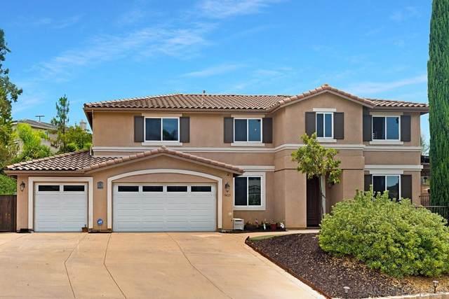 9425 Adlai Ter, Lakeside, CA 92040 (#210023068) :: Neuman & Neuman Real Estate Inc.