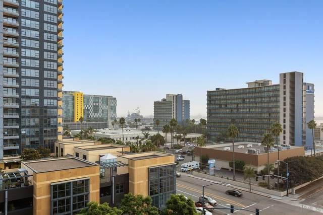 1431 Pacific Hwy #806, San Diego, CA 92101 (#210024127) :: Windermere Homes & Estates