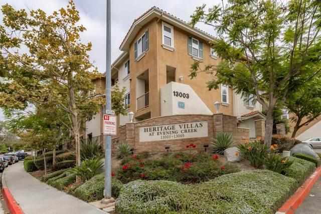 13003 Evening Creek Dr S #3, San Diego, CA 92128 (#210025303) :: Solis Team Real Estate