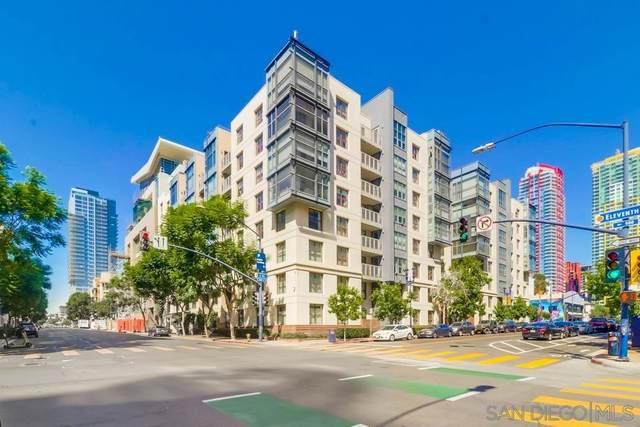 1150 J St #102, San Diego, CA 92101 (#210025463) :: Windermere Homes & Estates