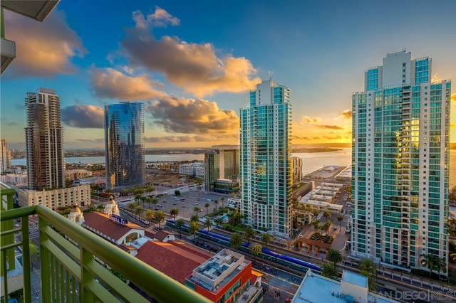 1240 India St #2301, San Diego, CA 92101 (#210025721) :: Windermere Homes & Estates