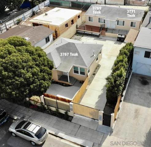 3767-71 Teak St, San Diego, CA 92113 (#210025877) :: Neuman & Neuman Real Estate Inc.