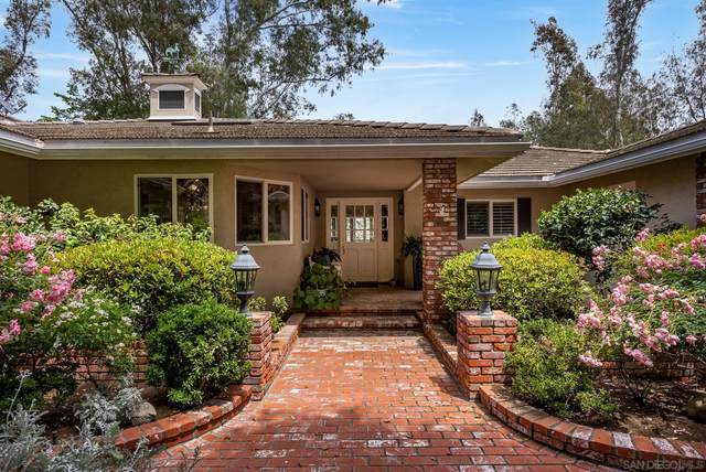17509 Rancho Del Rio, Rancho Santa Fe, CA 92067 (#210025963) :: Windermere Homes & Estates