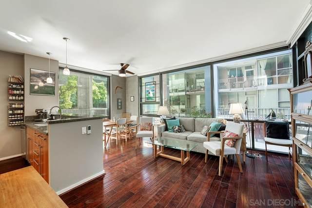 350 11th Avenue #224, San Diego, CA 92101 (#210026055) :: Windermere Homes & Estates