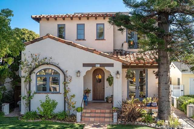 417 Pomona Ave, Coronado, CA 92118 (#210026864) :: Zember Realty Group