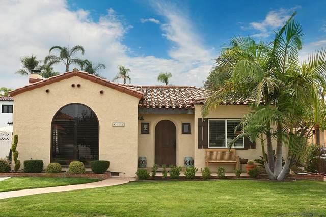 4371 N Talmadge Drive, San Diego, CA 92116 (#210027211) :: Windermere Homes & Estates