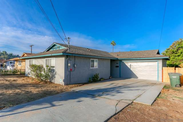 882 S Lincoln Ave, El Cajon, CA 92020 (#210027991) :: Neuman & Neuman Real Estate Inc.