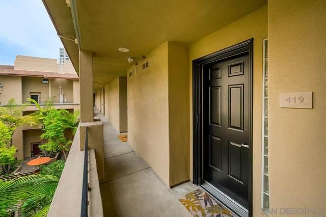 301 W G Street #419, San Diego, CA 92101 (#210028574) :: SunLux Real Estate